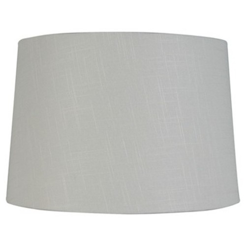 Threshold Lamp Shade, Large, top 13in. bottom 15in. Height 10in. Cream color