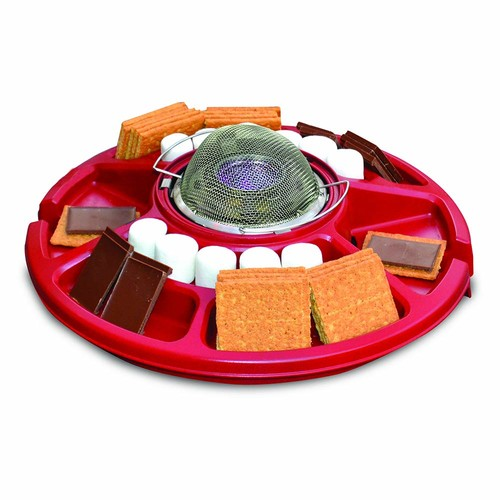 Sterno 70228 Family Fun S'mores Maker, Red [S'mores Maker]