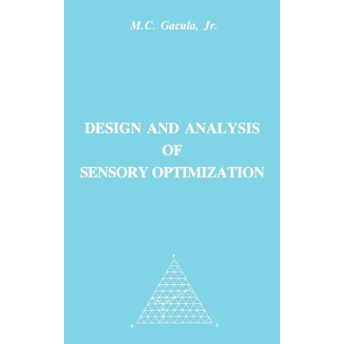 Design and Analysis of Sensory Optimization / Edition 1