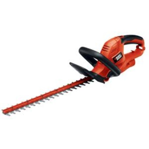 BLACK+DECKER 20 in. 3.8-Amp Corded Electric Hedge Trimmer