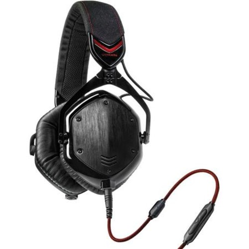 V-Moda Crossfade M-100 Over-Ear Headphones with Mic, Shadow