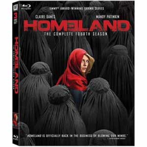 Homeland: The Complete Fourth Season [Blu-Ray]