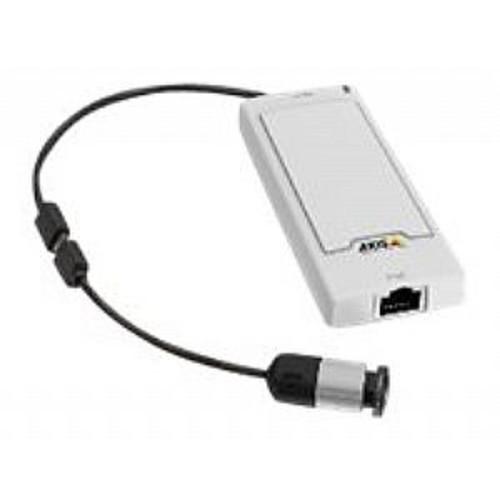 AXIS P1244 - Network surveillance camera - color - 1280 x 720 - 720p - fixed iris - fixed focal - LAN 10/100 - MPEG-4, MJPEG, H.264 - PoE