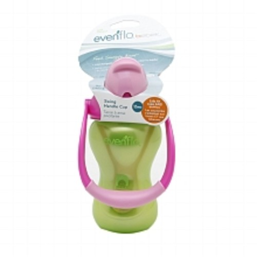 Evenflo Bebek Swing Handle Straw Cup Green