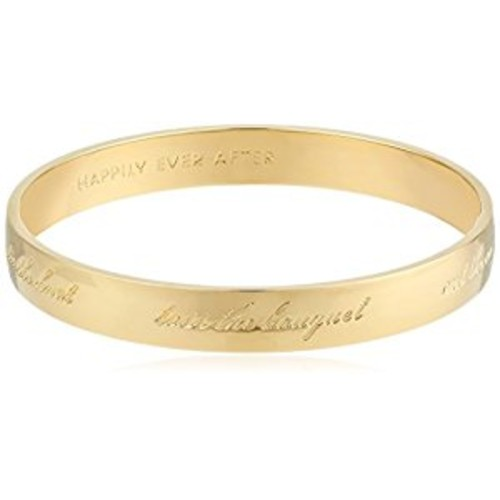 kate spade new york Bride Engraved Bangle Bracelet [g