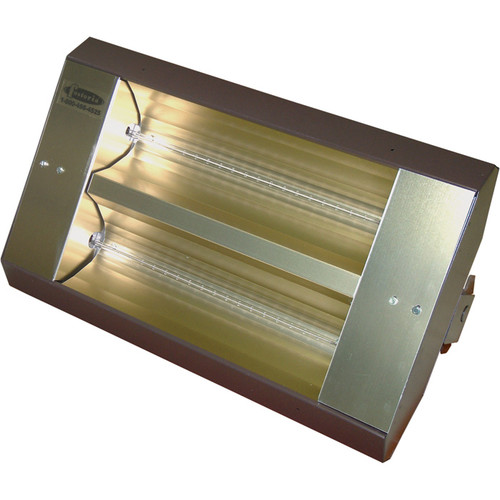 TPI TH Series Mul-T-Mount Indoor/Outdoor Quartz Infrared Heater  10,922 BTU, 480 Volts, Galvanized Steel, Model# 222-60-TH-480V