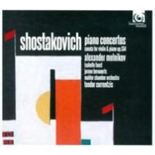 Shostakovich: Piano Concertos; Violin Sonata, Op. 134