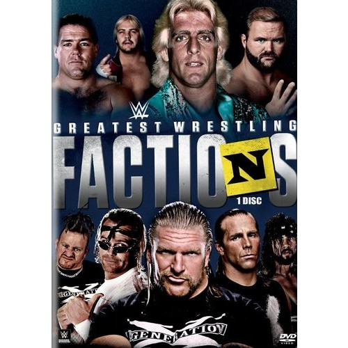 WWE: Wrestling's Greatest Factions [DVD] [2014]