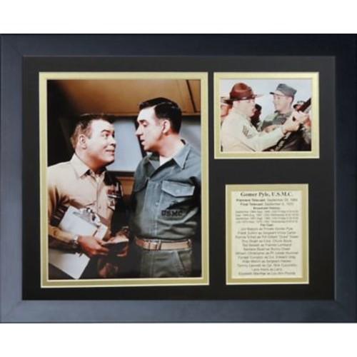 Legends Never Die Gomer Pyle Framed Memorabilia