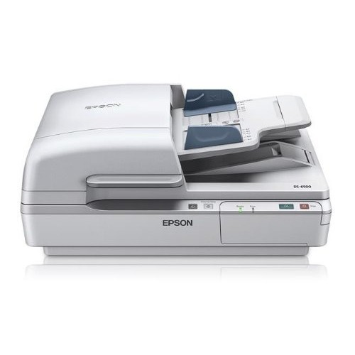 Epson WorkForce DS-6500 Sheet-Fed, Color Document & Image Scanner, 100 page Auto Document Feeder (ADF) & Duplex (B11B205221)