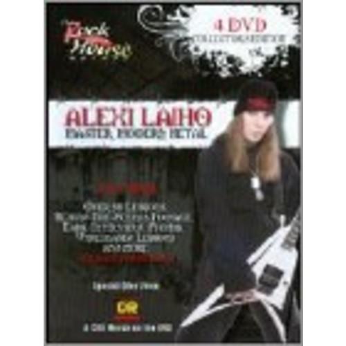 The Rock House Method: Alexi Laiho - Master Modern Metal [4 Discs] [DVD]