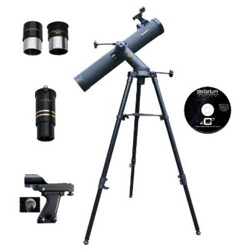 Cassini C-1100102TR Tracker Series Reflector Telescope - Multicolor (1100mm L x 102mm D)