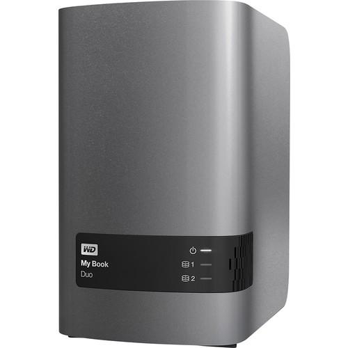 WD 8TB My Book Duo Desktop RAID External Hard Drive - USB 3.0 - WDBLWE0080JCH-NESN [8TB, Dual Drive]