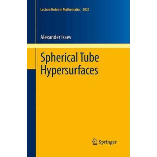 Spherical Tube Hypersurfaces