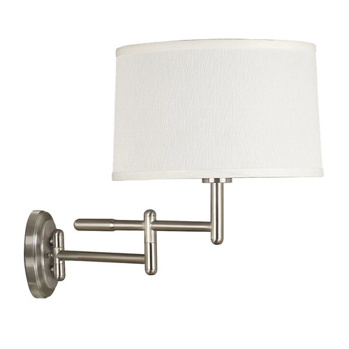 Kenroy Home 20942BS Theta 1 Light Plug In Wall Sconce