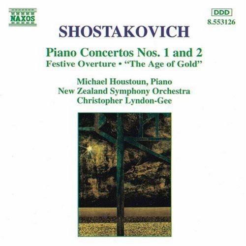 Shostakovich: Piano Concertos Nos. 1 & 2 [CD]