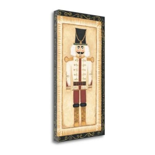 Tangletown Fine Art 'Nutcracker III' Shamp Print on Canvas; 34'' H x 19'' W