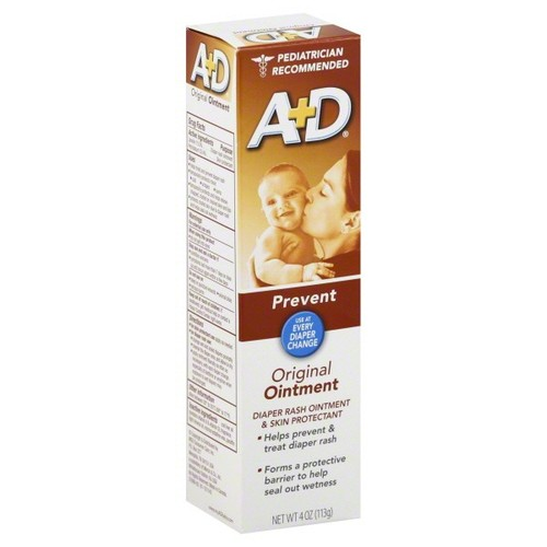 A+D Diaper Rash Ointment & Skin Protectant, Prevent, Original,