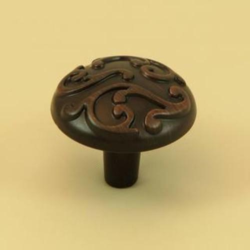 Oil-rubbed Bronze Holland Cabinet Knob
