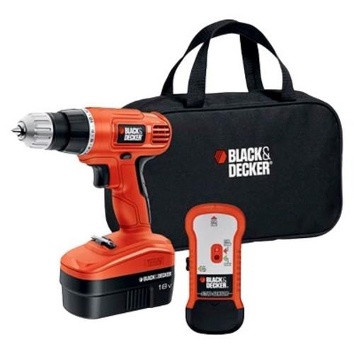 BLACK+DECKER 18V Drill with Stud Finder