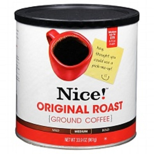 Nice! Ground Coffee Original Roast