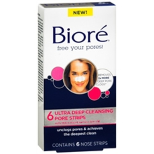 Biore Deep Cleansing Pore Strips Ultra