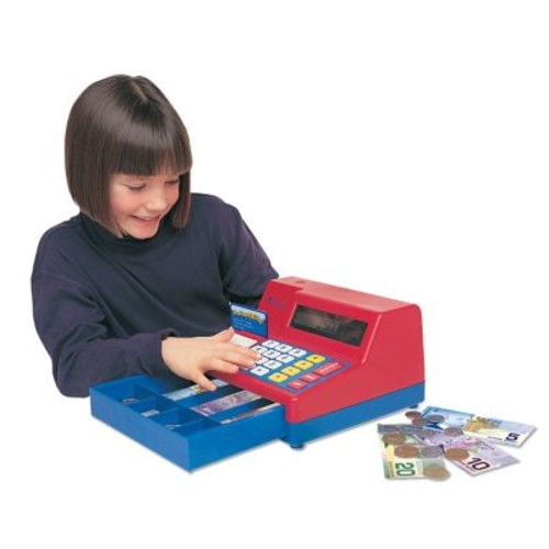 Learning Resources Pretend & Play Calculator Cash Register With Canadian Money