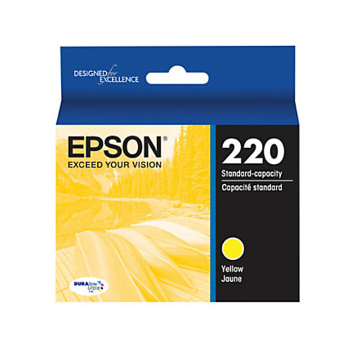 Epson DuraBrite Ultra Ink Cartridge, Yellow, T220420-S