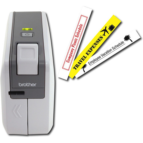 Brother - PC-Connectable Label Maker - White