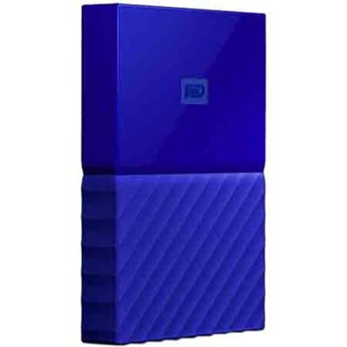 Western Digital WD 2TB My Passport Portable Hard Drive - Blue