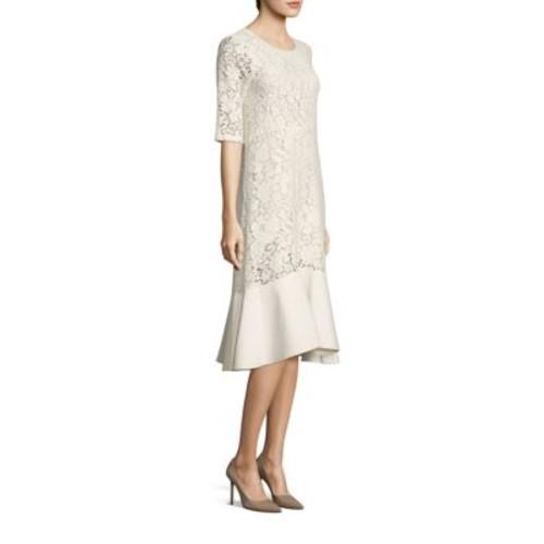 SEE BY CHLOÉ Ruffled Lace Midi Dress