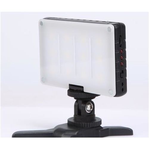 GVB Gear Pocket-Sized Daylight On-Camera Light with Built-In Battery