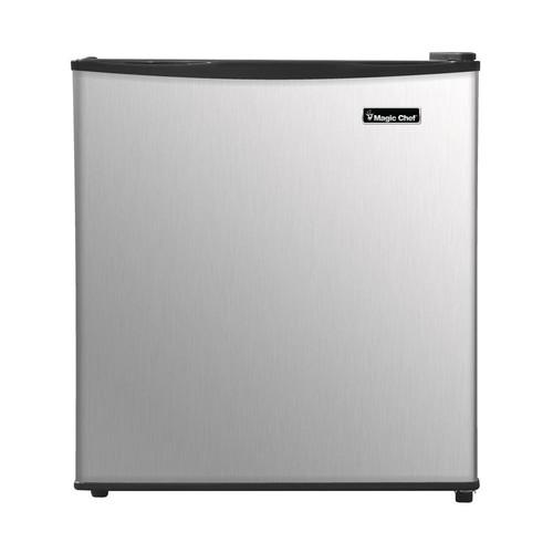 Magic Chef Freezerless 1.7 cu. ft. Mini Refrigerator in Stainless Steel