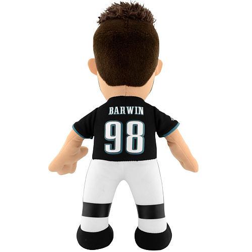 Philadelphia Eagles Connor Barwin 10 Inch Plush Figure (Black)