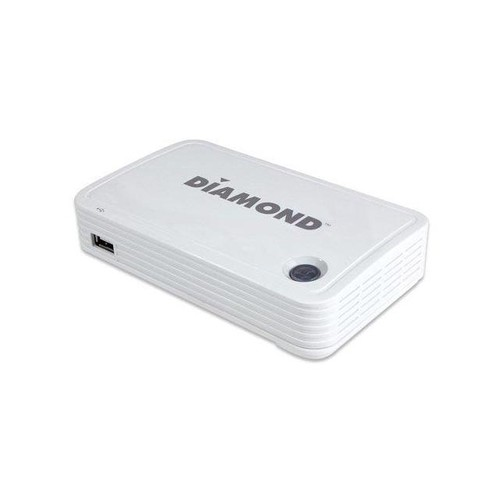 DIAMOND Wireless HD Display Adapter for Mobile and PC - Functions: Video Streaming, Video Decoding - USB - 1920 x 1080 - VGA - Audio Line Out - Linux, iOS, Android