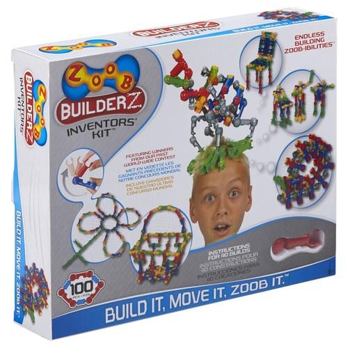 POOF-Slinky ZOOB BuilderZ 100-piece Building Set - Inventors Kit