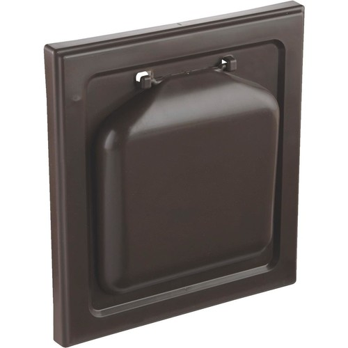 P-Tec Products No Pest Wide Mount Dryer Vent Hood - NPWRB