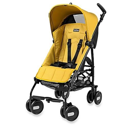 Peg Perego Pliko Mini Lightweight Stroller - Mod Yellow