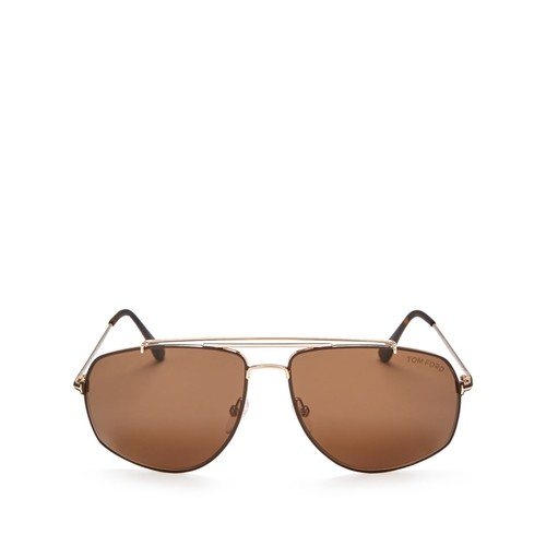 TOM FORD Aviator Sunglasses, 59Mm