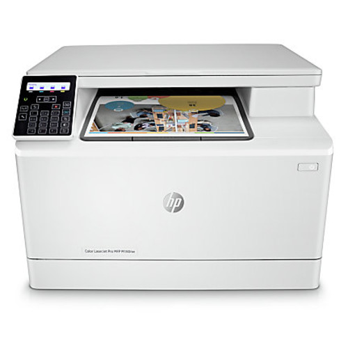 HP LaserJet Pro M180nw All in One Wireless Color Laser Printer (T6B74A)
