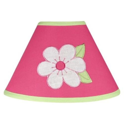 Sweet Jojo Designs Flower Lamp Shade in Pink/Green