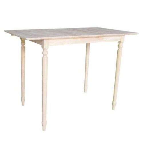 International Concepts Unfinished Pub/Bar Table