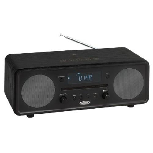 JENSEN Bluetooth Digital Music System with AM/FM Radio and CD Player - Black (JBS-600)