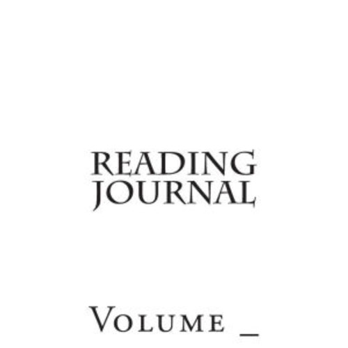 Reading Journal: White Cover