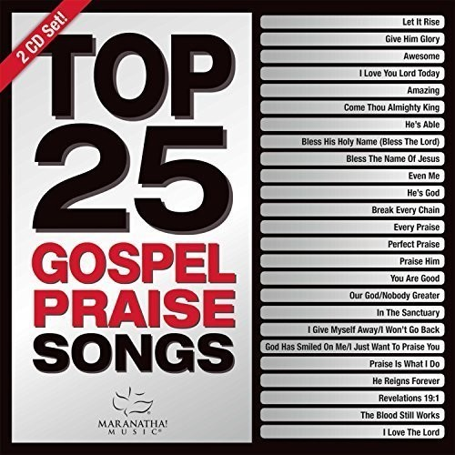 Top 25 Gospel Praise Songs (Green)