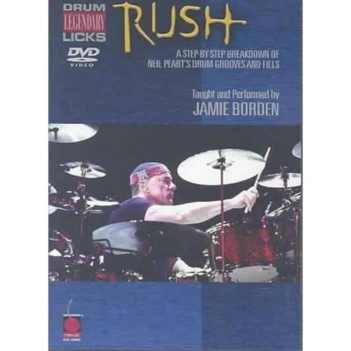 Rush legendary licks for drums (DVD)