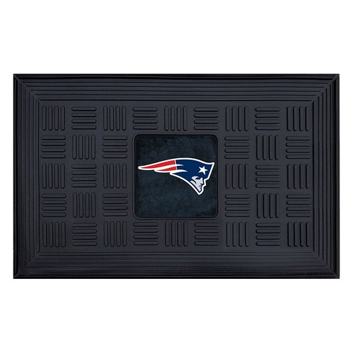 FANMATS NFL New England Patriots Vinyl Door Mat [New England Patriots]