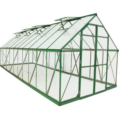 Pelram Balance Hobby Greenhouse  20ft. x 8ft., Green Frame, Model# HG6120G