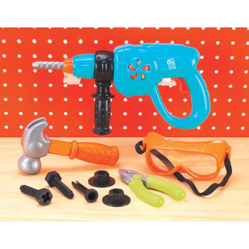 Little Handyman's Power Drill Tool Set