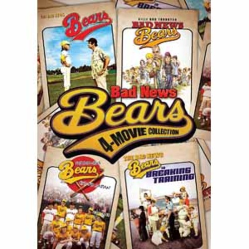 Bad News Bears 4-Movie Collection [DVD]